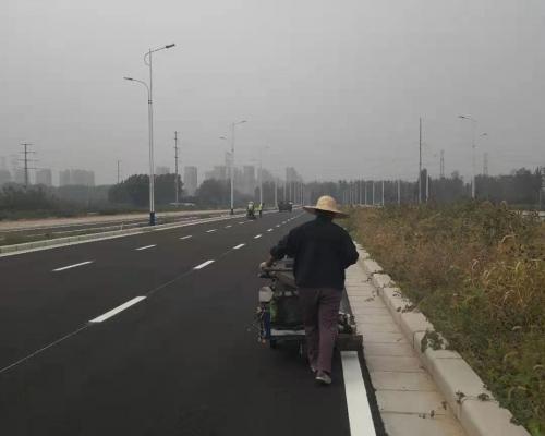 2020年重点项目:中牟县金龙路道路交通工程