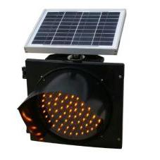 Φ400型太阳能黄闪信号灯