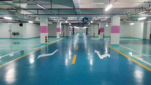 郑州停车场地坪施工